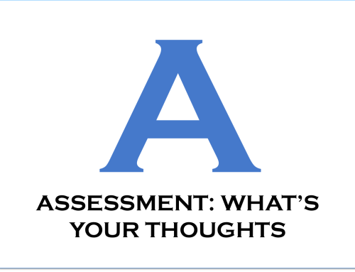 Assessment: What's Your Thoughts?