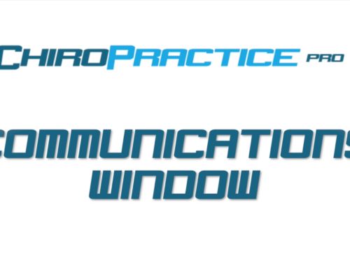 Communications Window